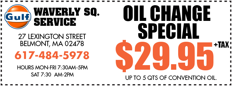 Oil Change Special Coupon